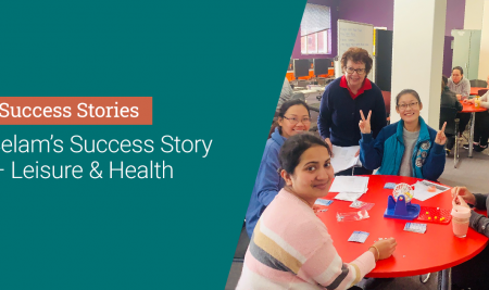 Selam's Story – Leisure and Health – Student Success Stories
